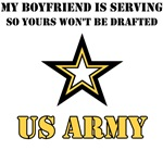 Army Boyfriend is serving so your wont be drafted