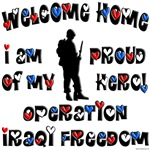 Welcome Home - I am proud of my hero - OIF