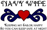 NAVY WIFE - Keeping My Sailor Happy