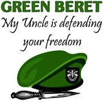 Green Beret - My Uncle is defending your freedom