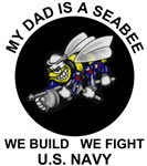 My Dad is a Seabee - U.S. Navy