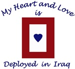 My Heart and Love is deployed in Iraq