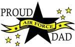 Proud Air Force Dad with Hero Poem