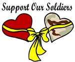 2 Hearts with Support our Soldiers