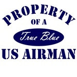 Property or a True Blue US Airman