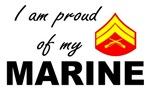 Proud of my Marine - Corporal E4