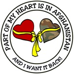 Part of my heart is in Afghanistan