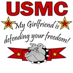 My Girlfriend is defending your Freedom!