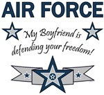My Boyfriend is defending your freedom!