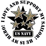 I Love and Support my SAILOR - US Navy