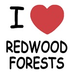 I heart redwood forests