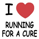 I heart running for a cure