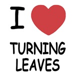 I heart turning leaves