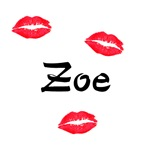 Zoe kisses