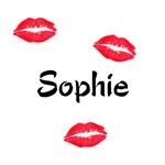 Sophie kisses