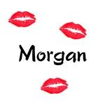 Morgan kisses