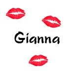 Gianna kisses