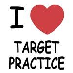 I heart target practice
