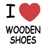 I heart wooden shoes