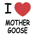 I heart mother goose