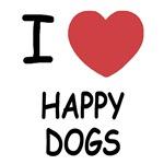 I heart happy dogs