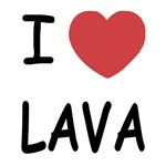 I heart lava