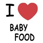 I heart baby food
