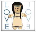 Ethnic Love Doll - no. 1