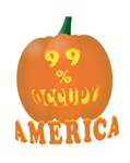 occupy america pumpkin 3D