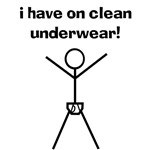 Clean Underwear T-Shirt