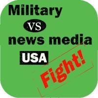 Military vs news media