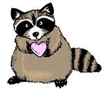 Sweetheart Raccoon