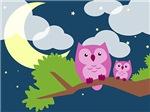 Cute Night Owls