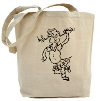 Bagpipe and Highland Dance Tote Bags