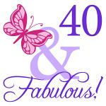 40 And Fabulous Birthday Gifts