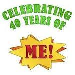 Funny Attitude 40th Birthday Gifts