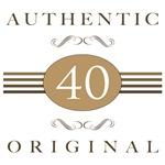 40th Birthday Authentic