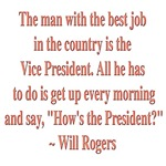 Will Rogers President Quote