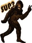 Bigfoot Sasquatch Yetti Sup