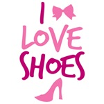 I LOVE Shoes with cute little bow