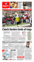 Feb. 2, 2009 - Clutch Steelers