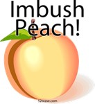 Imbush Peach! t-shirts, stickers and more