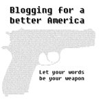 Blogging for a better America t-shirts
