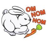 OM NOM NOM rabbit