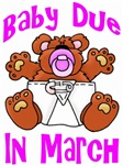 Baby Due In March