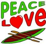 Peace Love Canoe