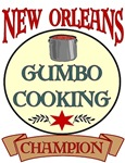 New Orleans Gumbo Cooking Champ