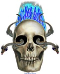 Eastern Dragon Skull