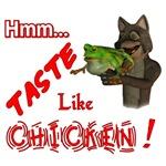Hmm... Taste like Chicken