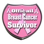 Officail Breast Cancer Survivor Badge